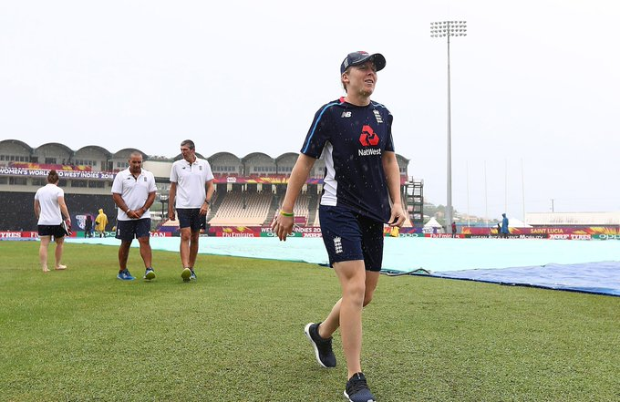 Monsoonal rain in St Lucia has caused a #WT20 match to be abandoned for the first time and raised the possibility of future matches being moved to Antigua reports @JollyLauz18. Photo