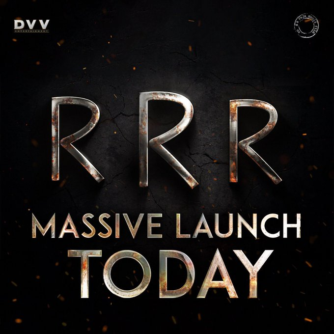 #RRRMassiveLaunch Photo