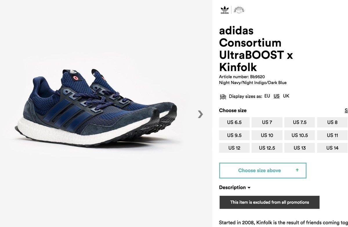 6f77dbfbe5f  RESTOCK Kinfolk x adidas Ultra Boost    http   bit.ly 2SKcJY4 pic.twitter .com u03XsLJa3v