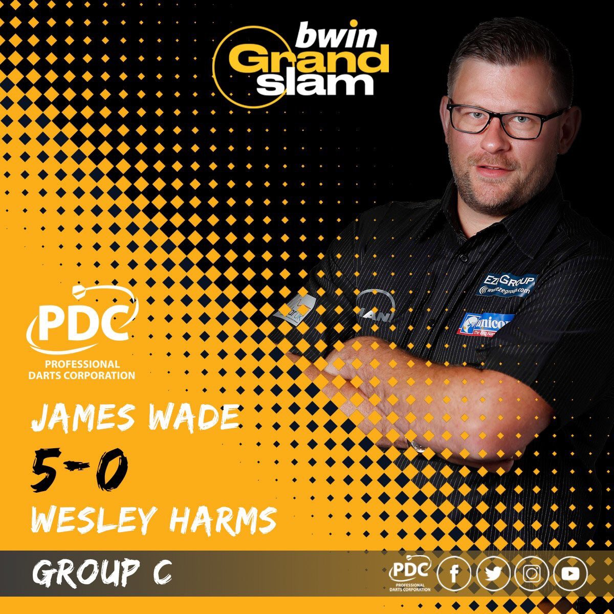 Thanks for all the support everyone 🎯👊🏼 #TeamWade