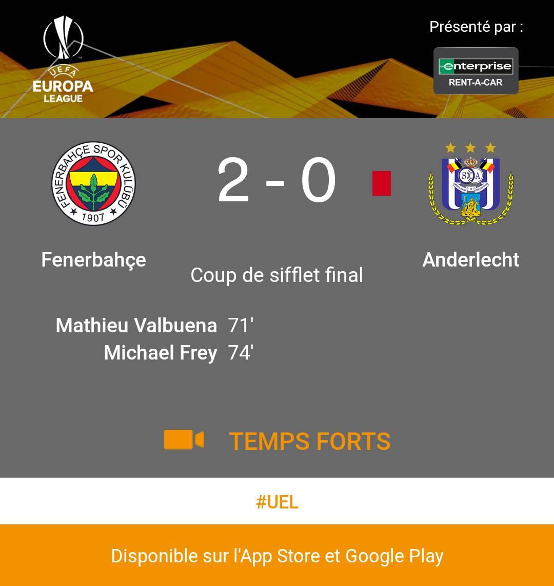 Fenerbahçe  -  Anderlecht https://t.co/JF4KUSeI8U #fenand https://t.co/DqXDMOU68e