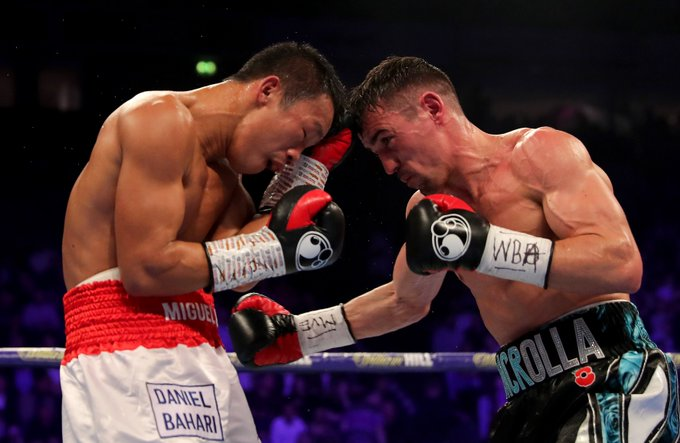 It went all the But Anthony Crolla has beaten Daud Yordan at Manchester Arena! Live: Photo