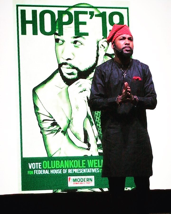 Banky W declares intention to run for House of representatives in the 2019 elections