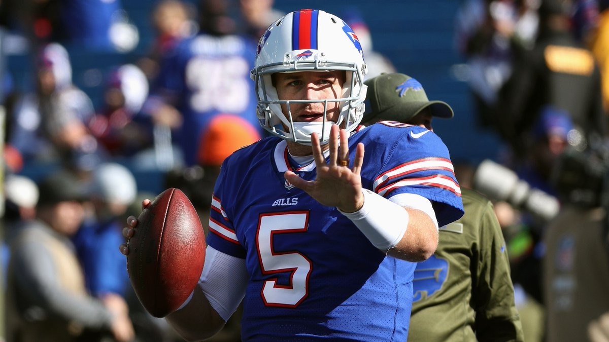 Bills say Matt Barkley expected to start at QB today against Jets