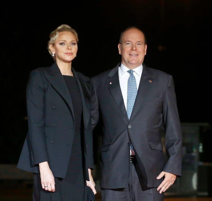 Княгиня Шарлeн и князь Альбер II почтили сегодня в Париже память жертв Первой мировой войны