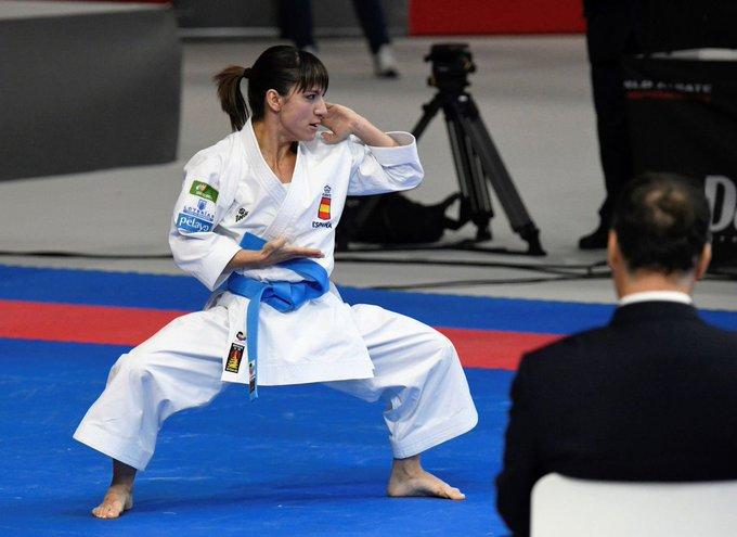 🎙️Es nuestra campeona del mundo de Kata, hablamos con SANDRA SÁNCHEZ ➡️El momento más nervioso ha sido el de las he empezado a  📻EN DIRECTO Foto