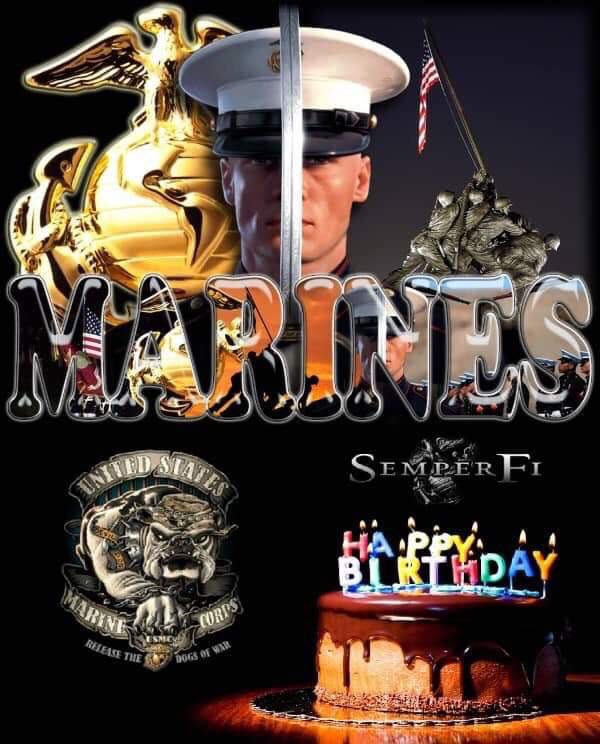 Nothing but #respect Happy Birthday #Marines