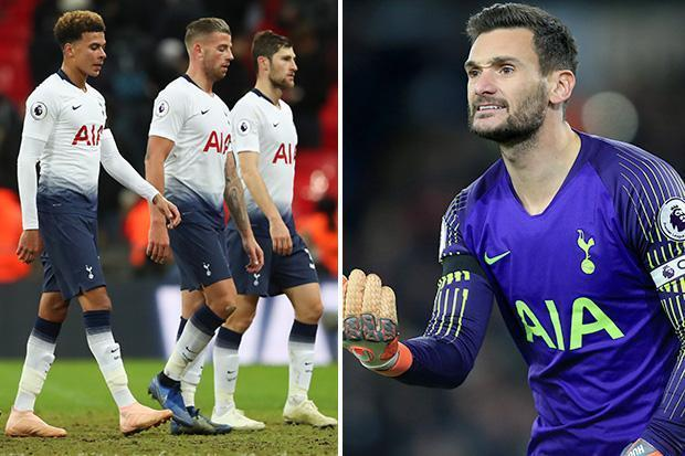 Spurs fans fed up with Lloris after several errors vs Palace Photo