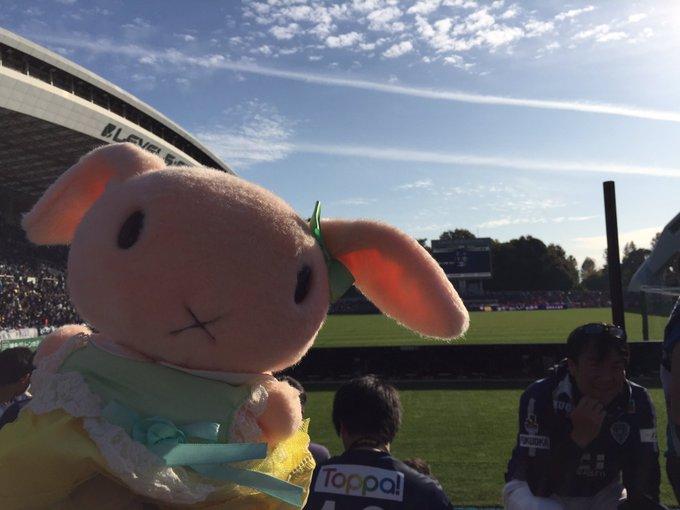 アビほー!!!! レベスタ初観戦で初勝利!!!! #avispa #アビスパ福岡 写真