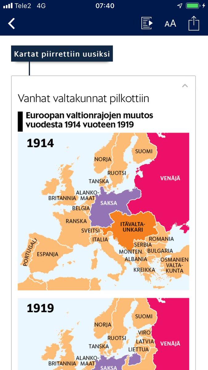 Jorma Ikaheimo On Twitter Hsfi Kartan Mukaan Suomi Oli