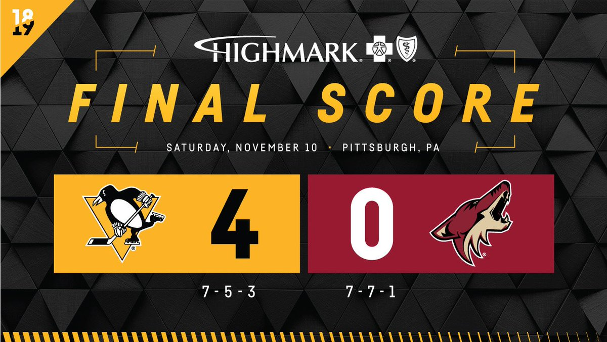 Pittsburgh Penguins On Twitter What Time Is It Winfographic Time