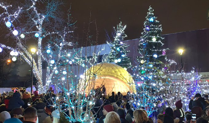 A million thanks to everyone for coming to #AllisBright tonight. You've made our 'hood very bright indeed! Photo