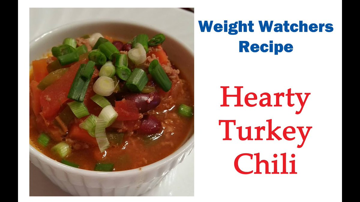 https://t.co/7AT54CArEs - Weight Watchers Recipe:  Hearty Turkey Chili (6 points) https://t.co/MYeUnPDtvR