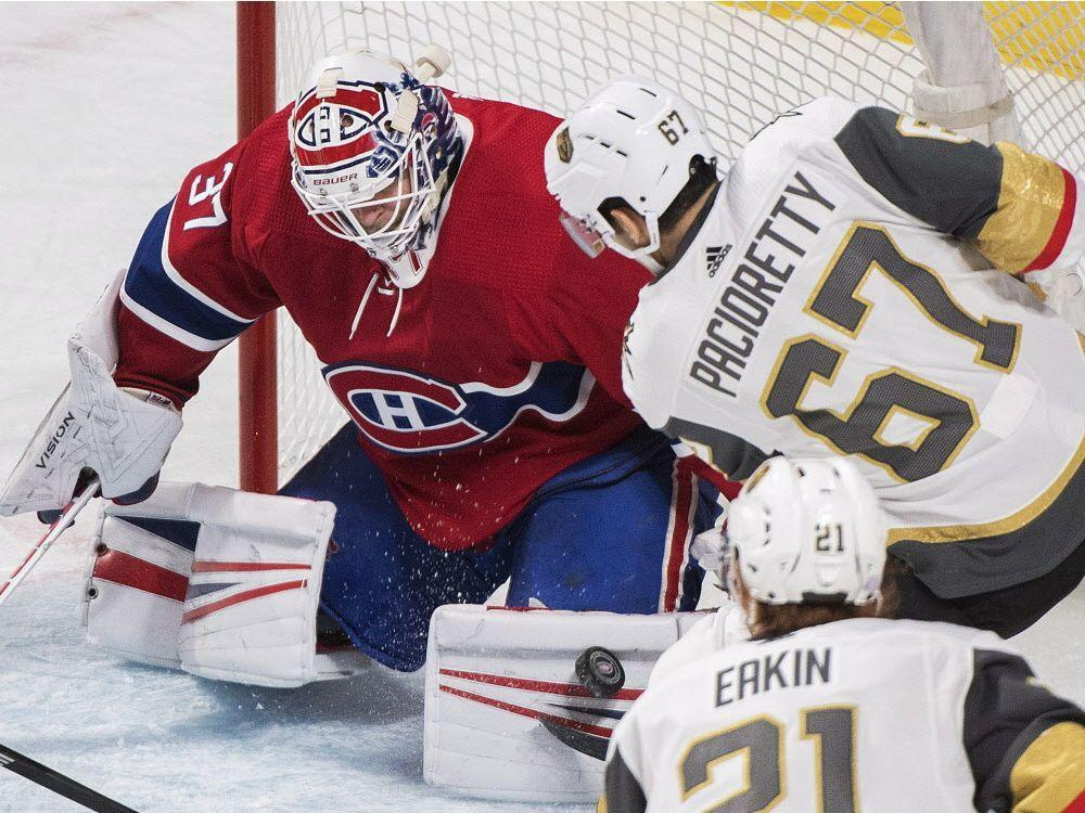Canadiens put on a lively show to edge flashy Vegas Golden Knights https    525d9ff91