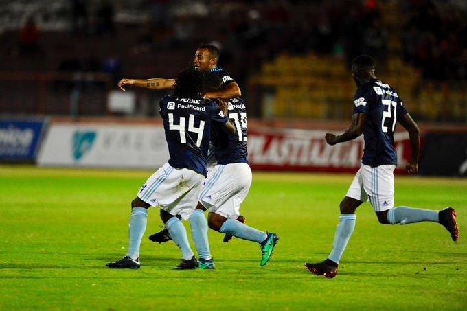 LÍDER TEMPORAL || (FOTO) Emelec vence al Deportivo Cuenca y sigue firme en la etapa Photo