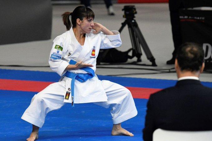 Sandra Sánchez, campeona mundial de kata Foto