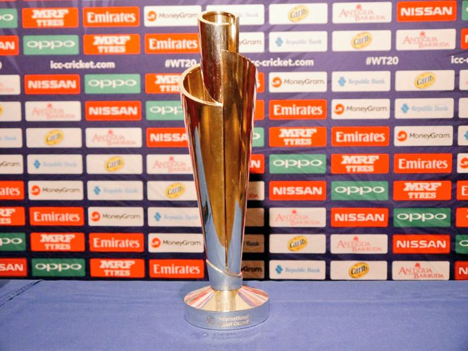 Complete this sentence: The team who will claim the #WT20 trophy Photo