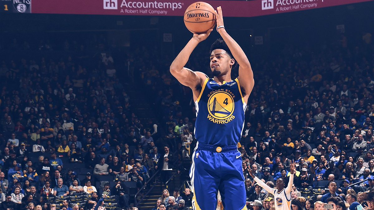 Dubs close it out tonight against the Nets with a 116-100 victory 🙌 #DubNation