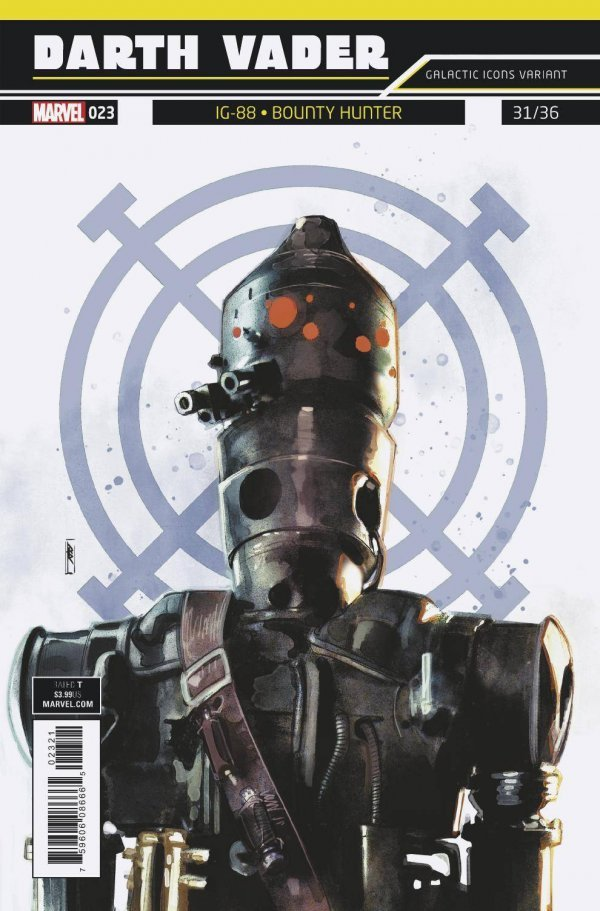 Star Wars Darth Vader #21 Galactic Icon Variant