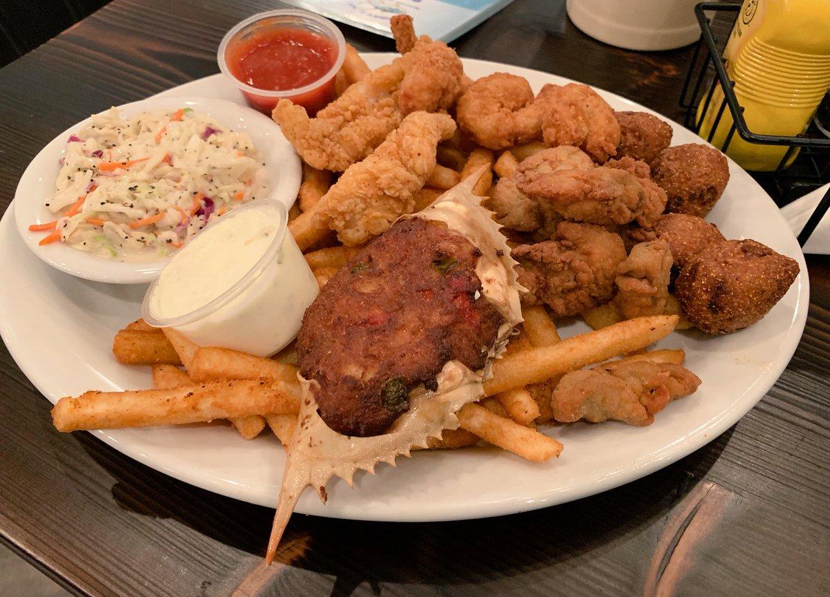 Sasha On Twitter Yummy Fried Seafood Platter At Angry Tuna Sashaeats Foodietravels Sashainpcb Culinaryglobetrotter Foodporn Nomnom Uzhin Dinner Visitflorida Https T Co D0rhhawkje