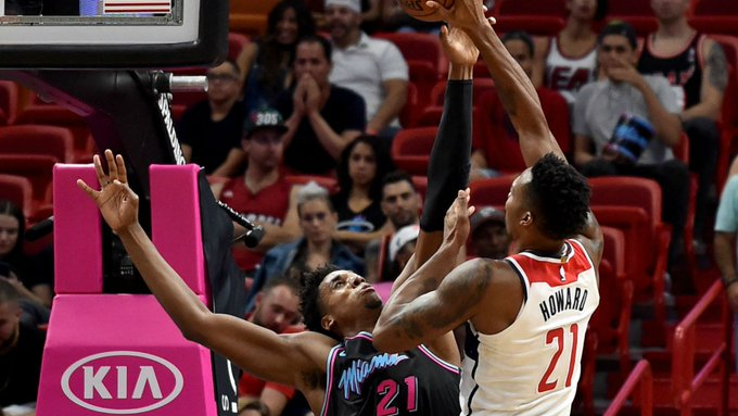 For once the Wizards outrebounded an opponent and as a result got a win down in Miami. Four more observations from @ChaseHughesNBCS: Photo