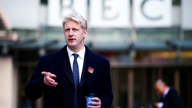 En désaccord sur le Brexit, le frère de Boris Johnson claque la porte du cabinet britannique Photo