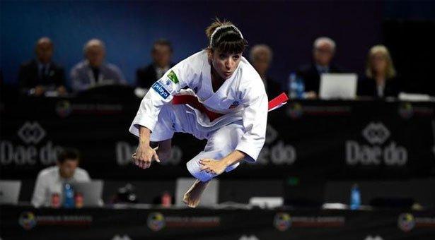 Española Sandra Sánchez, campeona del mundo de kata a los 37 años Foto