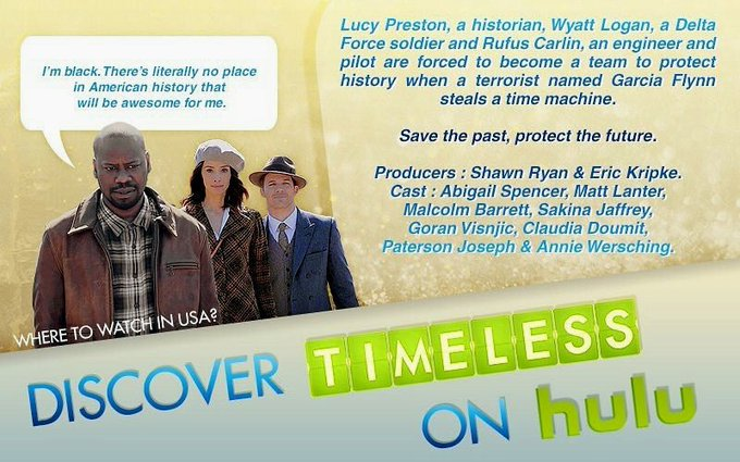 #BadUsesForABathroom : No eating & watching the best time travel show of all time called #Timeless in there. Timeless is on Hulu & belongs in the family room so everybody can join in on the Timeless cheer while freaking out about each twist & turn & eating chocolate of course!😉 Photo