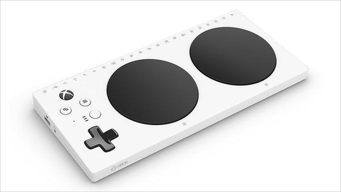 「The Xbox Adaptive Controller」2019年に日本を含む17カ国でも発売へ。 Photo