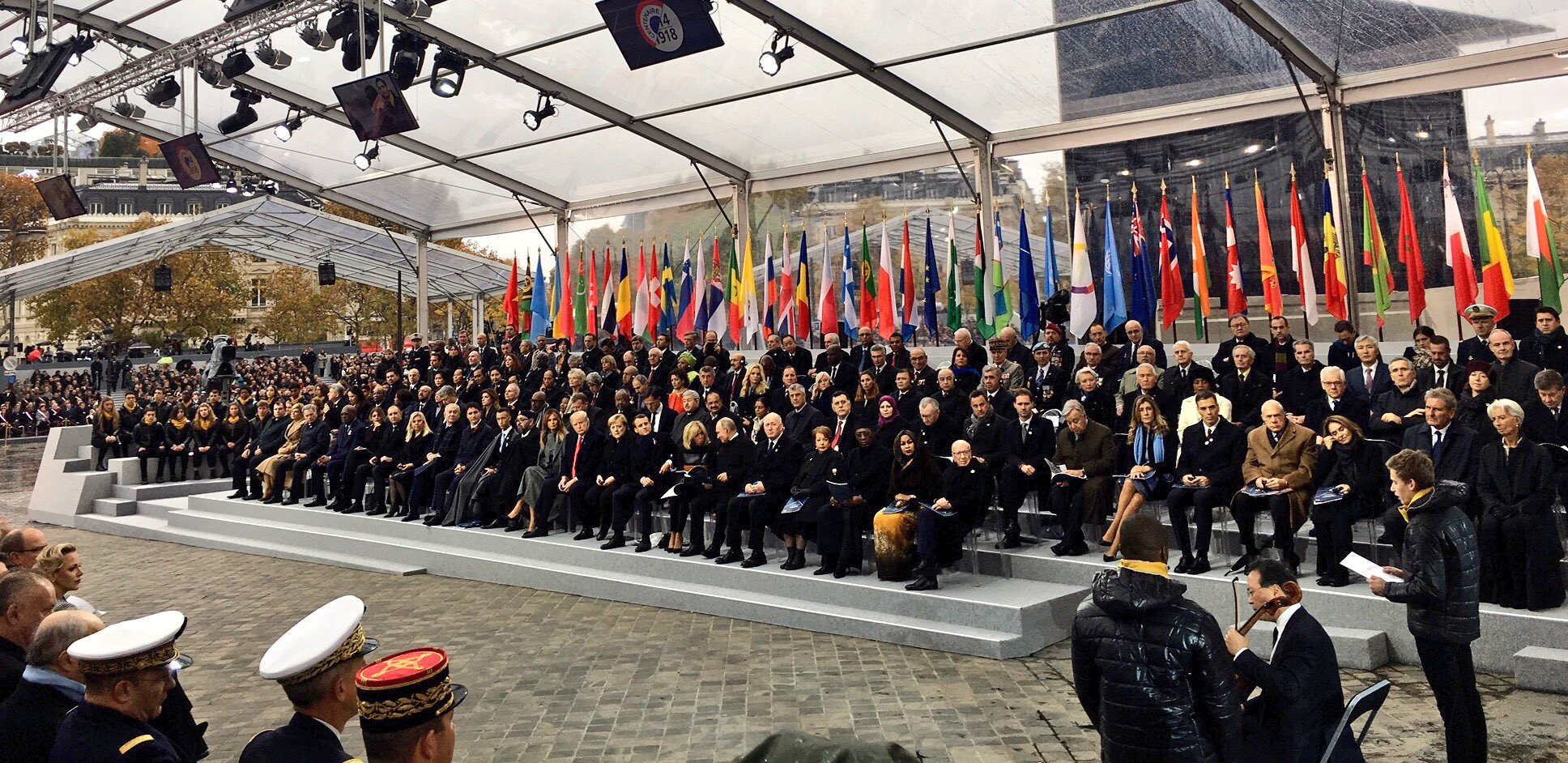 Мероприятия по поводу 100-летия окончания Первой мировой войны