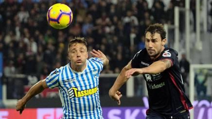 Cagliari, rimonta pazzesca Spal da 2-0 a 2-2 in 3 minuti Petagna e Pavoletti in gol - Foto