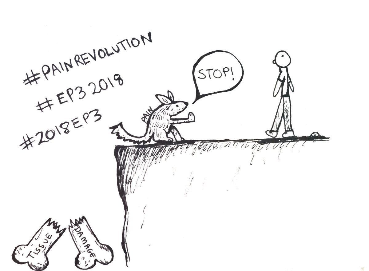 RT @MadelineThorp15: It's time to change how we think about pain #painrevolution #ep32018 #2018EP3 https://t.co/rVYBFZfau8