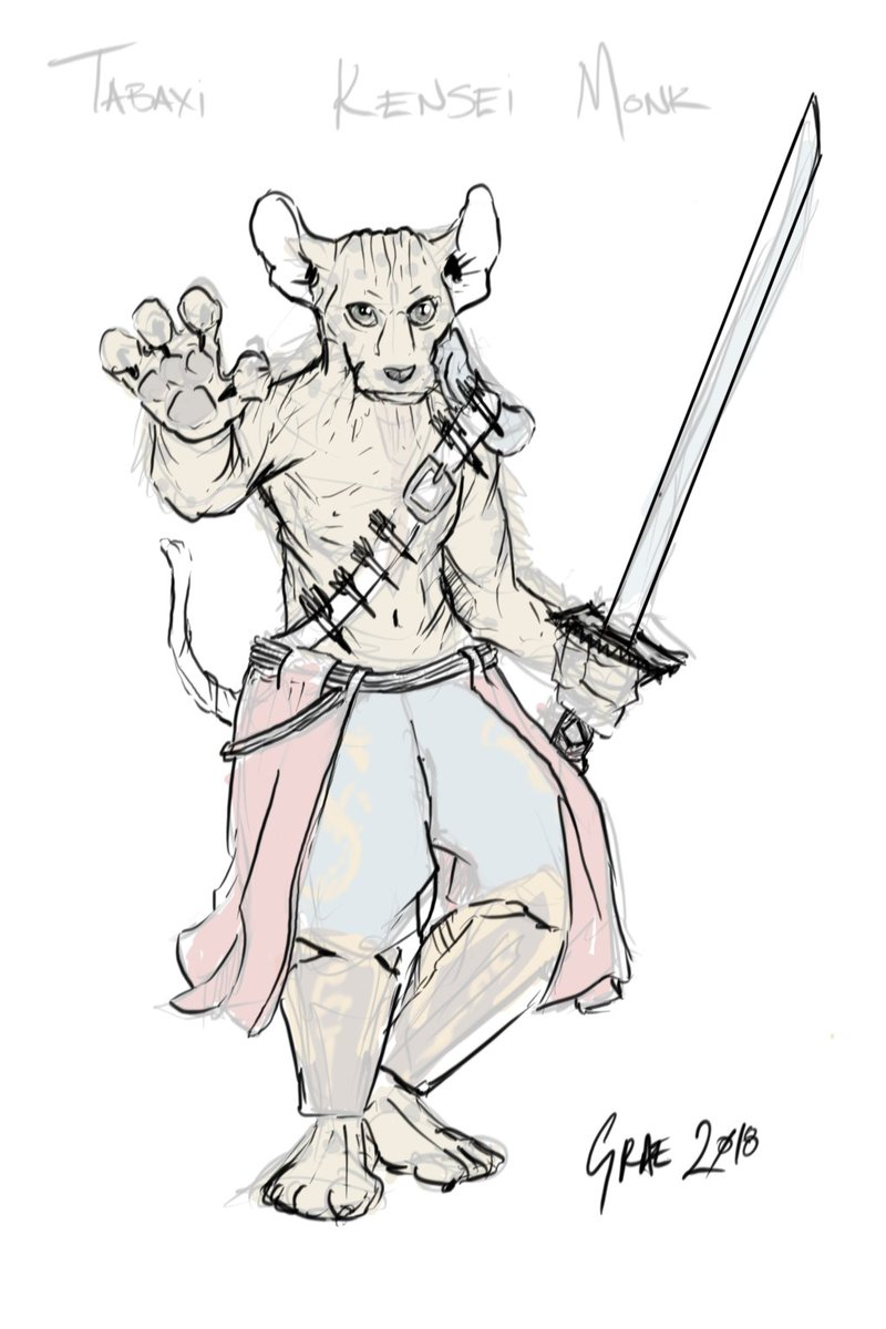 Graemation On Twitter New Character Time And I M Trying To Decide Between 1 Firbolg Cleric Arcane 2 Tabaxi Monk Kensei Monk Looks Cooler But Firbolg Will Fit In With Existing Holy Rollers How to utilize a tabaxi monk in your game. tabaxi monk kensei monk looks cooler