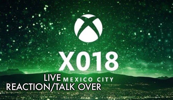Xbox X018 Live Reaction via @YouTube Photo