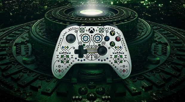 Kept seeing this XBox controller design during the X018 conference. Where can I find this?!? I WANT IT!!! Photo
