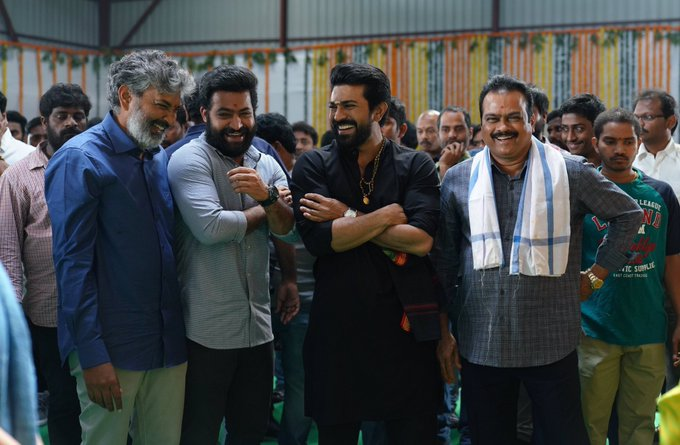 #RRR Onto floors from this 19th With an Action Episode!. #RRRMassiveLaunch Photo