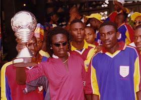 1 - @HeartsOfOakGH remain the only Ghanaian club in history and 1 of only 22 clubs in the world to ever win the sacred continental football treble (CAF Champions League, Domestic League & FA Cup - all in 2000) #ghpl Masters. Phobia!