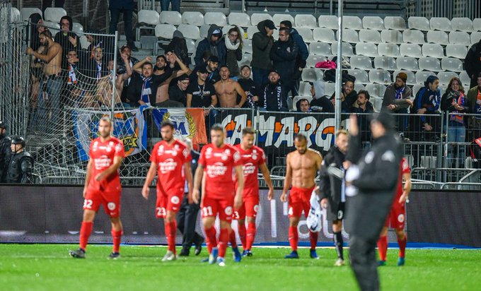 Stats 📈   C'est seulement la 2ème fois cette saison que le #MHSC échoue à marquer en @Ligue1Conforama ⚽️ #SCOMHSC 🔷🔶 Photo