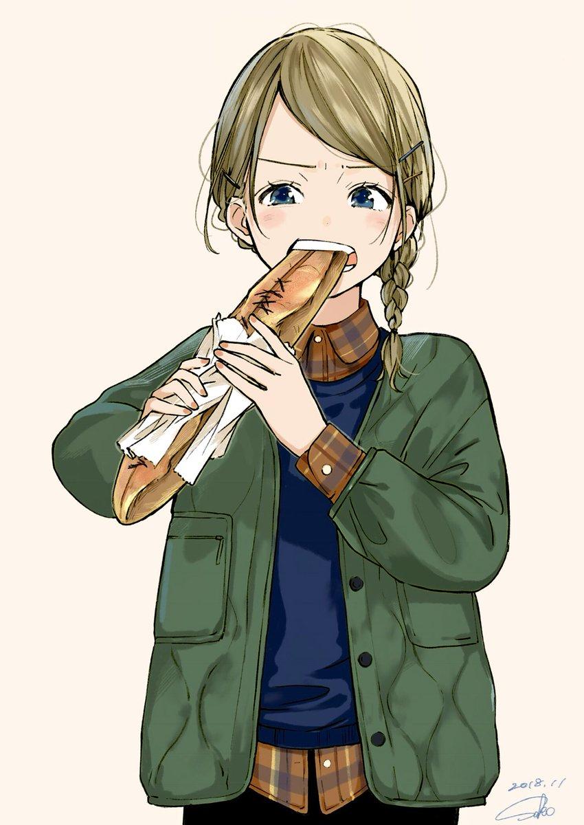 硬いフランスパン