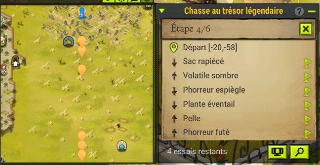 Dofus Chasse Au Tresor Plante éventail
