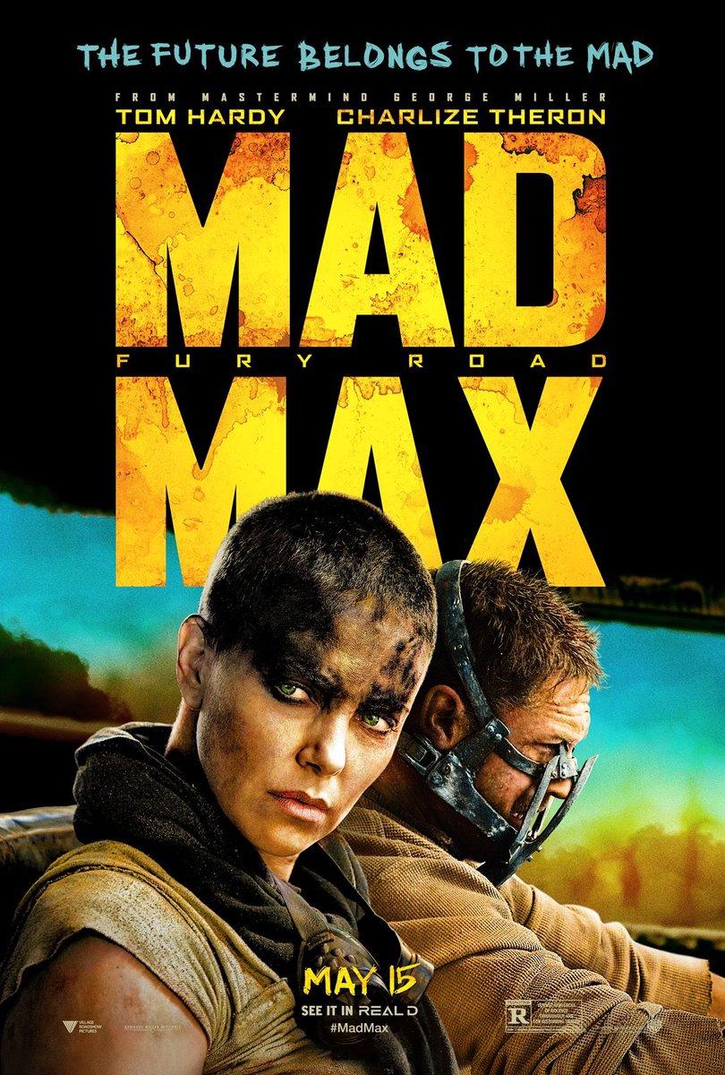 RT @Warabi_today: #生涯ベストワン映画 『マッドマックス 怒りのデスロード』 (Mad Max: Fury Road)  どうしてもMMFRだけは外せない https://t.co/wkyEiGgwSi