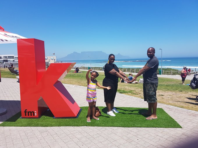 Fun times with the family in Cape Town, perfect weather, cool tunes courtesy of @KFMza #kfmloveskaapstad Photo