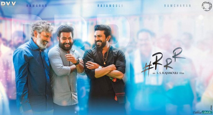 Header pic updated #RRR movie vache varaku no change #RRRMassiveLaunch Photo