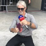 @HillF1 has really got his eyes on the ball as always.. We're preparing for the Brazilian GP on @SkySportsF1 right now. Mercedes and Ferrari very close, different strategies, may well rain.