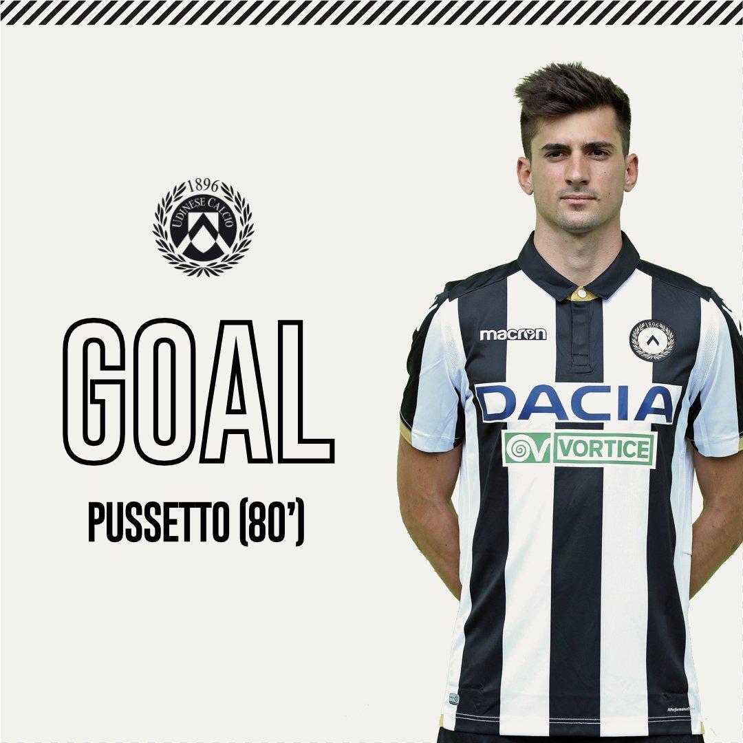 ⏱ 80' - NACHOOOOOOO!!!!! Gol #bianconero di #Pussetto in spaccata. Forza ragazzi! #Empoli 2 #Udinese 1