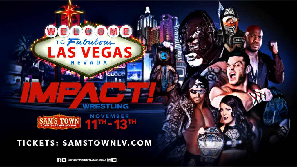 Spoilers: Impact Wrestling Taping Results From Las Vegas (11/12)