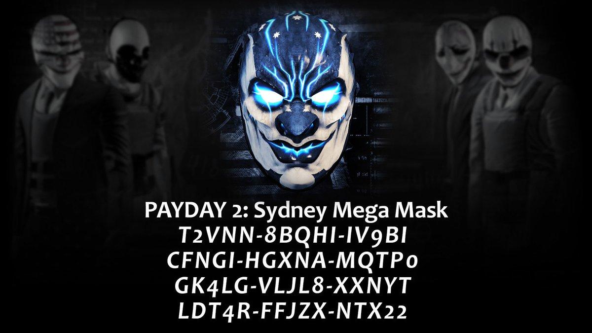 Mega Sydney Mask Payday 2