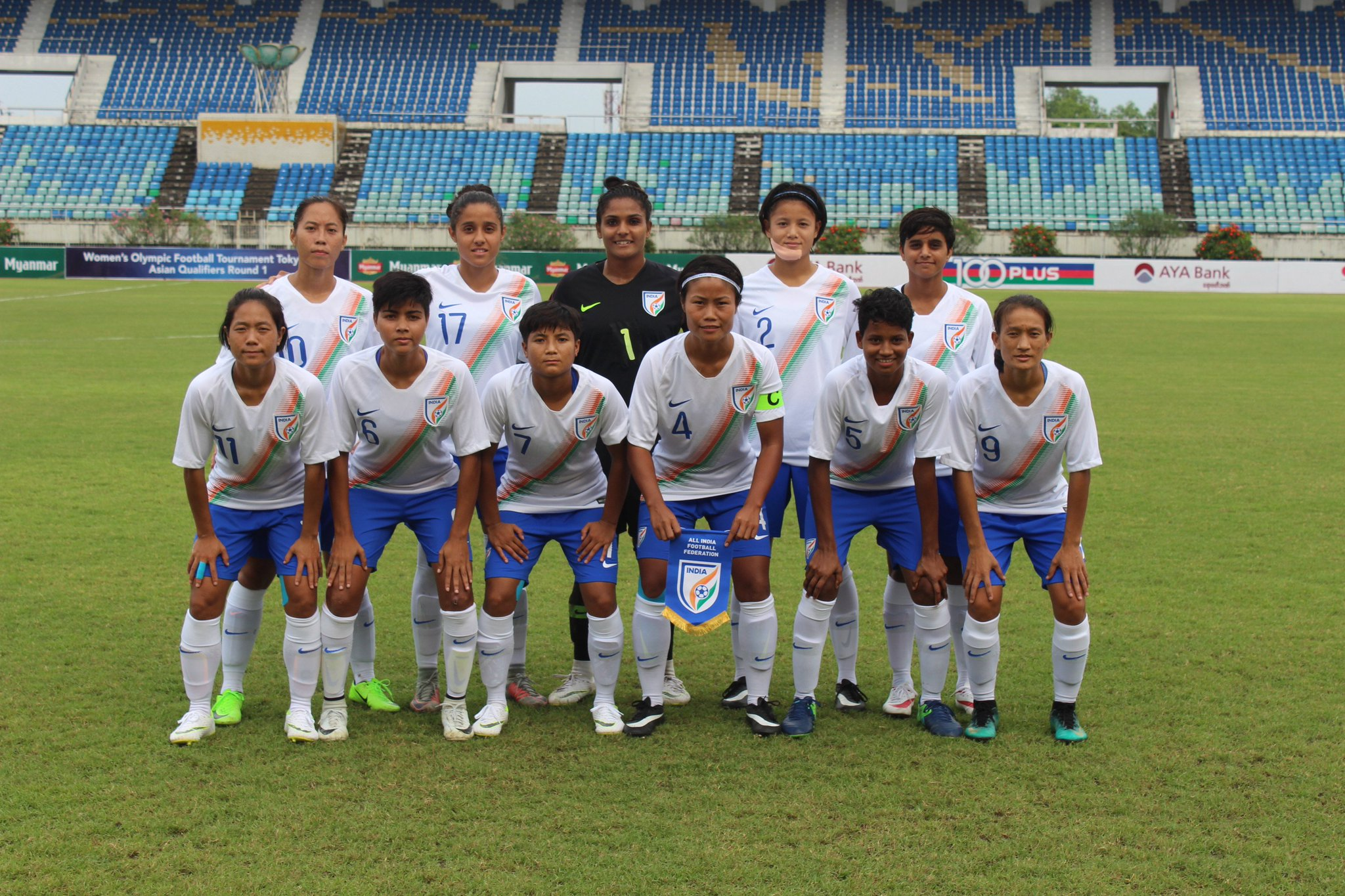 Indian women's football team are one step closer to making it to the next round of Olympic Qualifiers