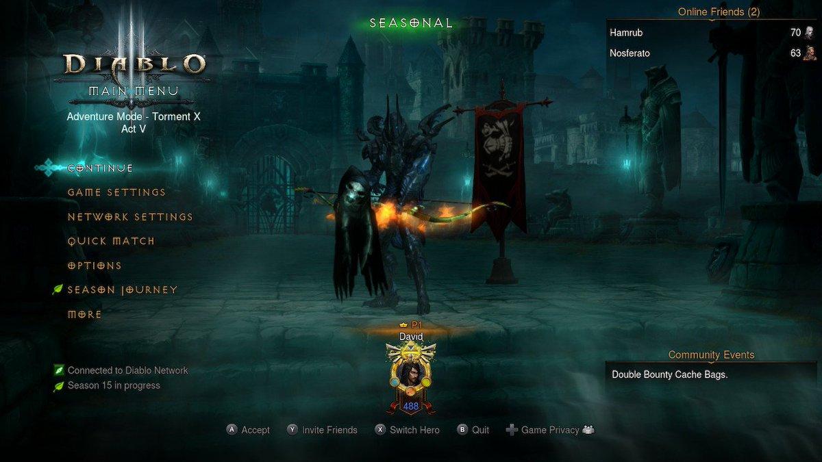 Diablo 3: Eternal Collection (Nintendo Switch Release) |OT