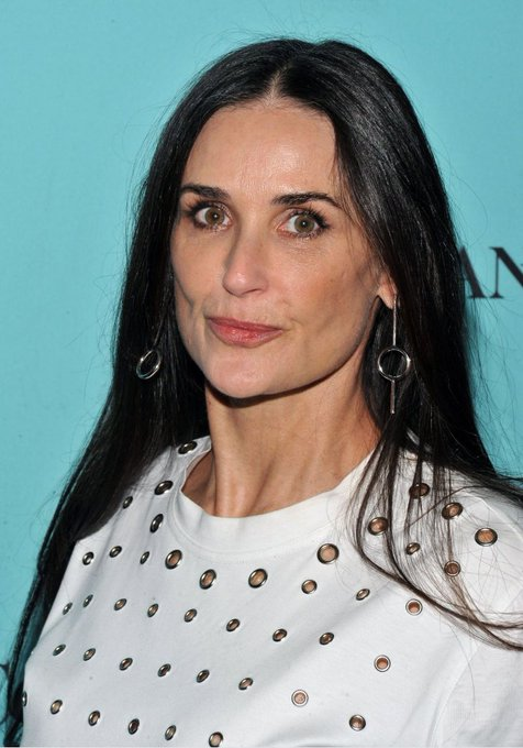 Happy birthday to the amazing actress, Demi Moore,she turns,56 years today